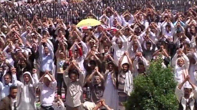 People in Sanaa