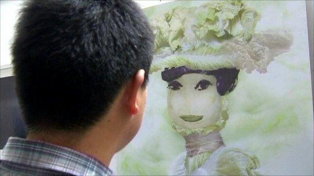Cabbage art