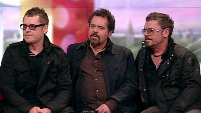 Jon, Andrew and Tim Farriss