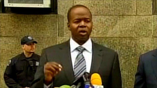 Maid's lawyer Kenneth Thompson