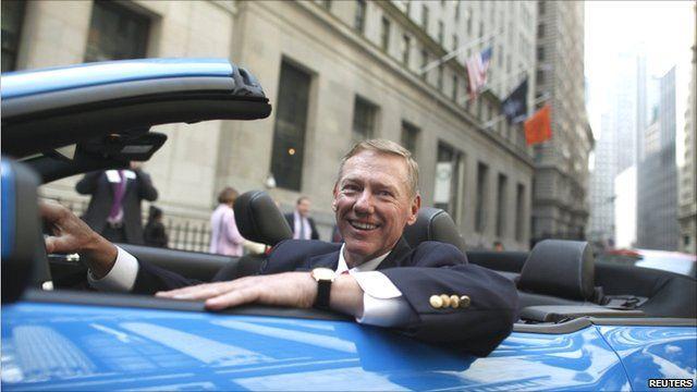 Ford Chief Executive Alan Mulally