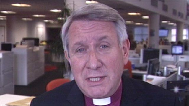Bishop Tim Stevens