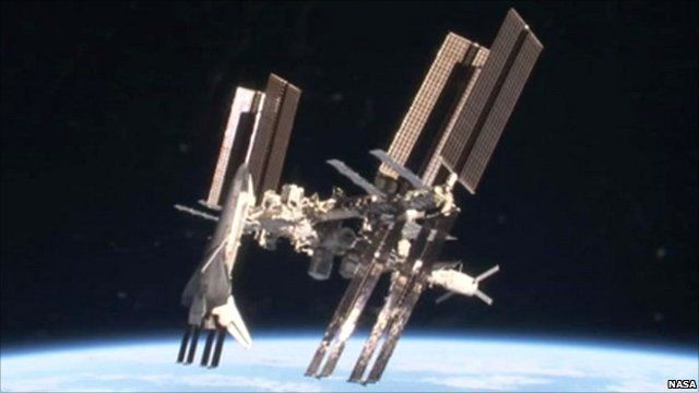 space shuttle to iss - photo #13