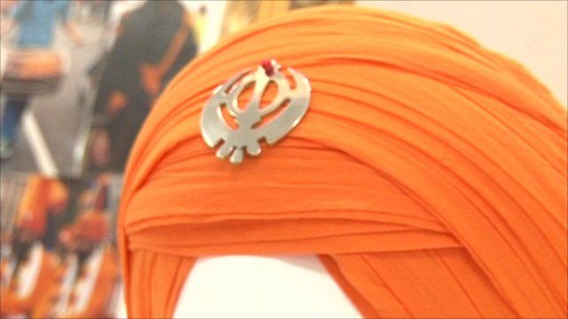 sikh turban how to put on