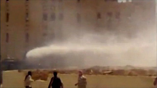 Snipers and water cannon attack protesters