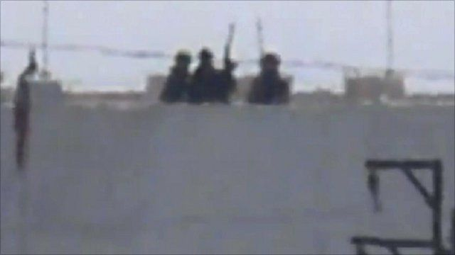Snipers spotted on rooftops in Jassem