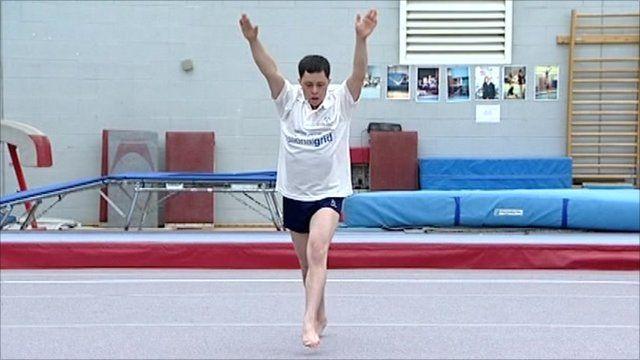Omar Haddad, British athlete