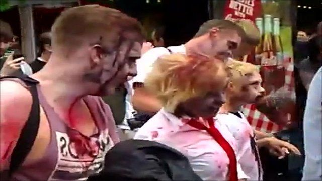 Zombies in Leicester