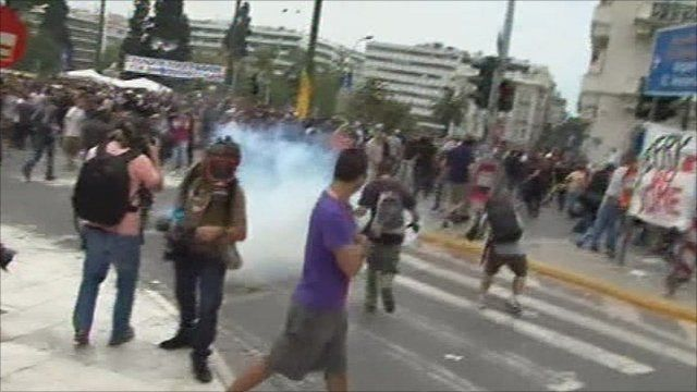 Protests in Greece