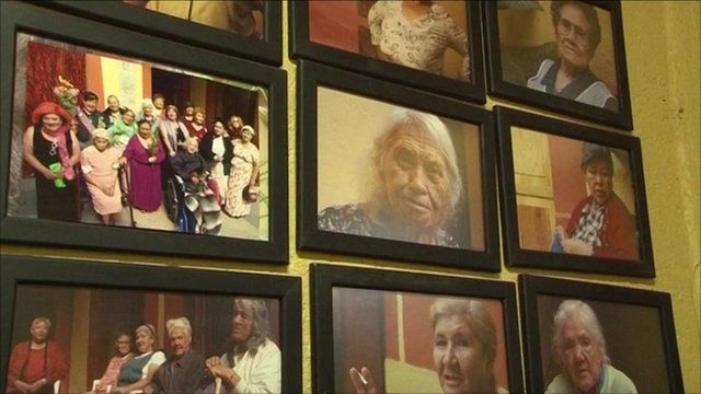 Photographs of residents of Casa Xochiquetzal