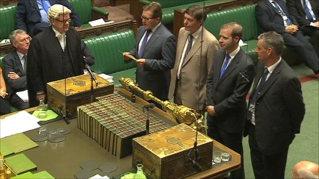 House of Commons pensions vote count