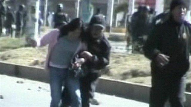 Unrest in Huancavelica