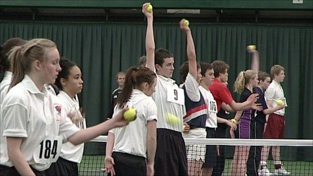 Ball boys and ball girls