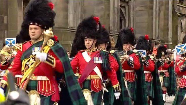 Edinburgh parade