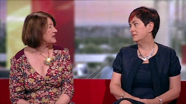 Katy Ivens and Dr Mary Bousted