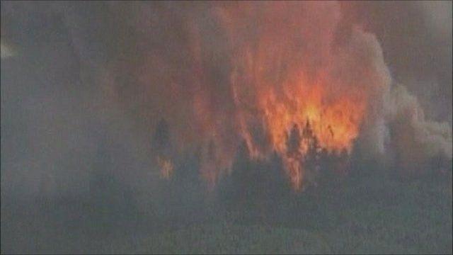 Los Alamos wildfire