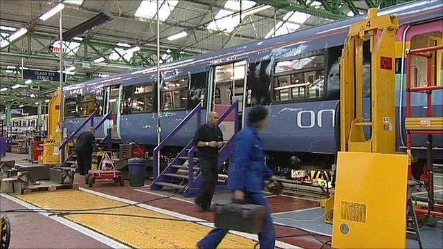 Workers at Train-maker Bombardier