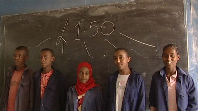 An Ethiopian school currently receives money per student