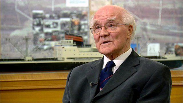 Jim Nicol worked at Scott's shipyard