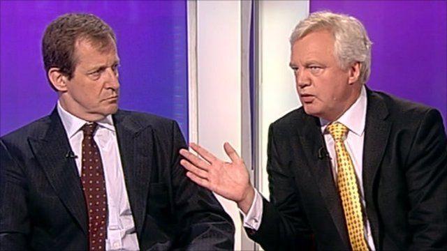 Alastair Campbell and David Davis