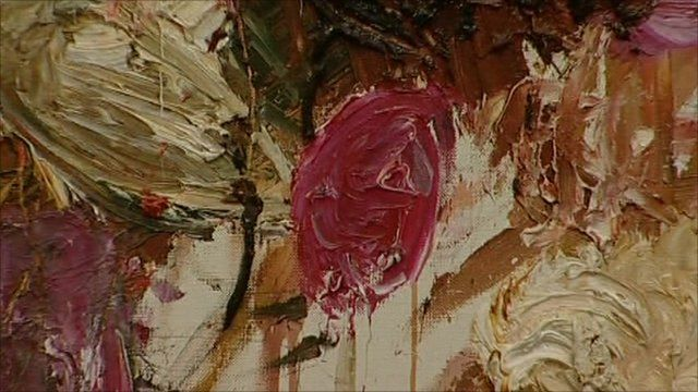 Twombly painting