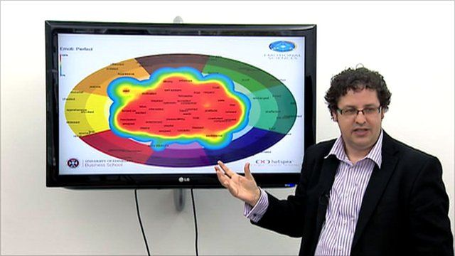 A 'weather map' shows the emotions of staff