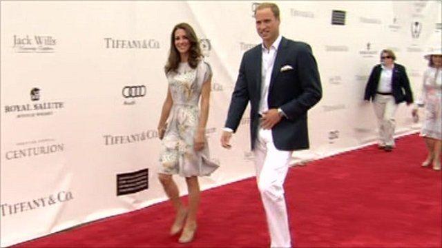 The Duchess and Duke of Cambridge