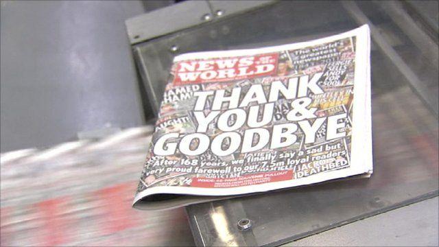 News of the World print run