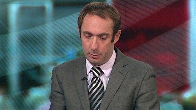 BBC's Tom Symonds