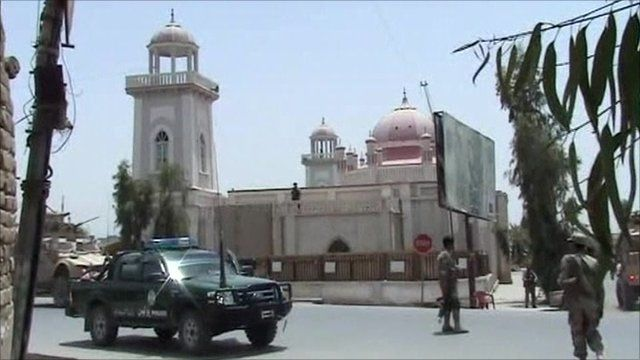 Mosque attacked in southern Kandahar