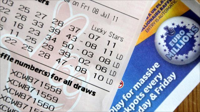 EuroMillions ticket and logo