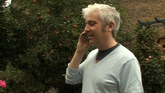 David Robertson on the phone