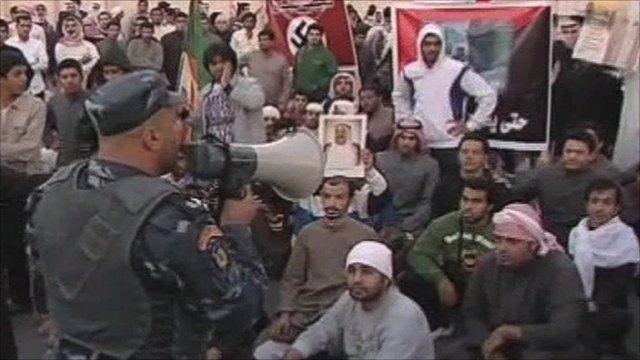 Bidun protests in Kuwait