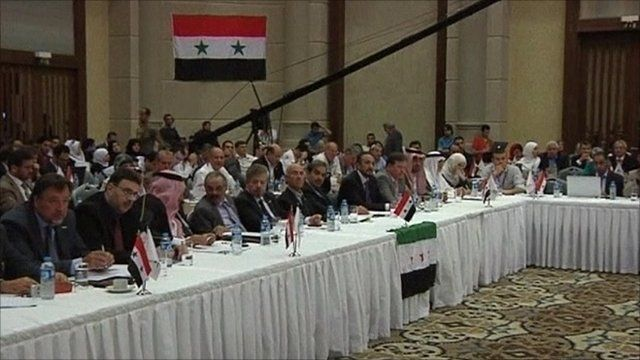 Delegates at the meeting