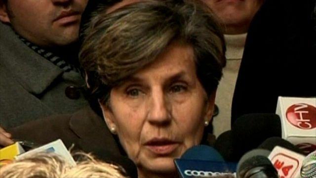 Isabel Allende, the daughter of the former President.