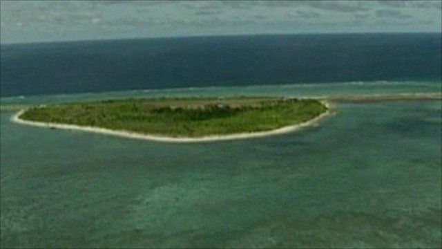 One of Spratly Islands