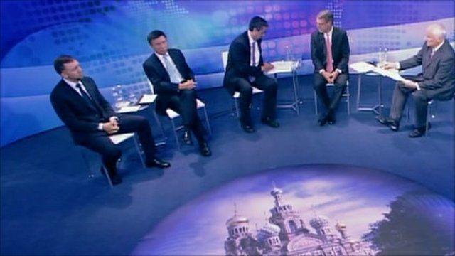BBC World Debate St Peterburg