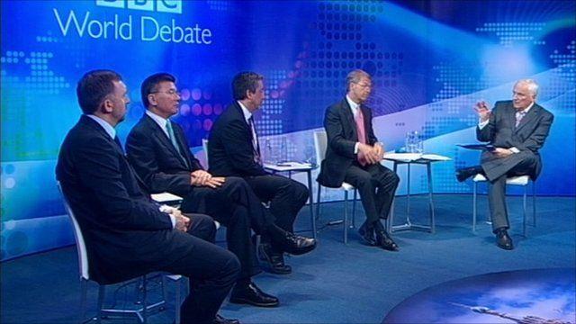 BBC World Debate in St Petersburg
