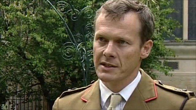 Lt Col Gerald Strickland