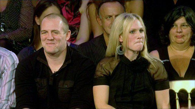 Zara Philips and Mike Tindall