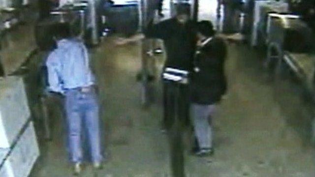 Security at Dulles International Airport, Washington DC