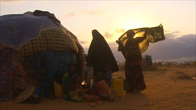 Women at the Dadaab refugee camp