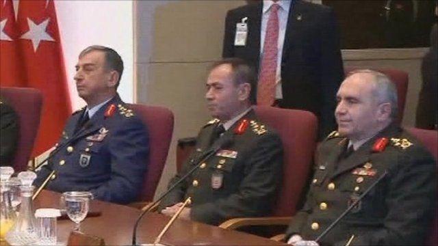 Turkish military chiefs