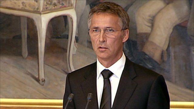 PM Jens Stoltenberg