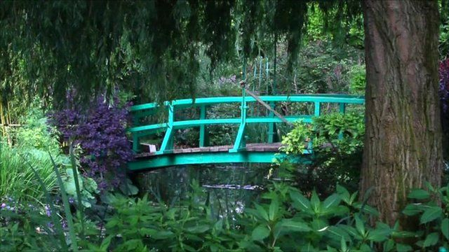The Japanese bridge at Giverny