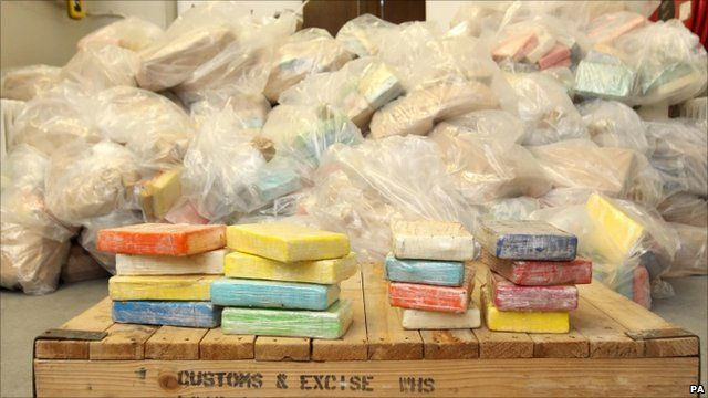 The cocaine haul