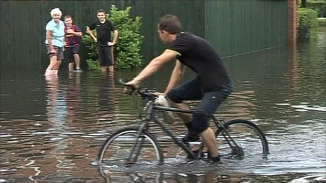 Flooding in Goole