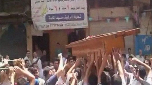Funeral in Syria