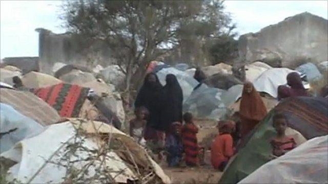 Somalian camp