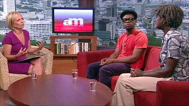Mariella Frostrup speaks to DJ Rita Ray and actor Sahr Ngaujah